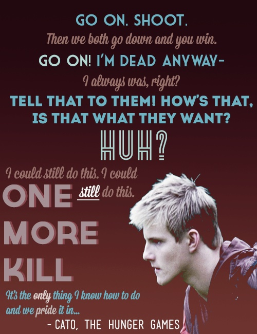 the sad thing about catos death is that he wont be in catching fire :(