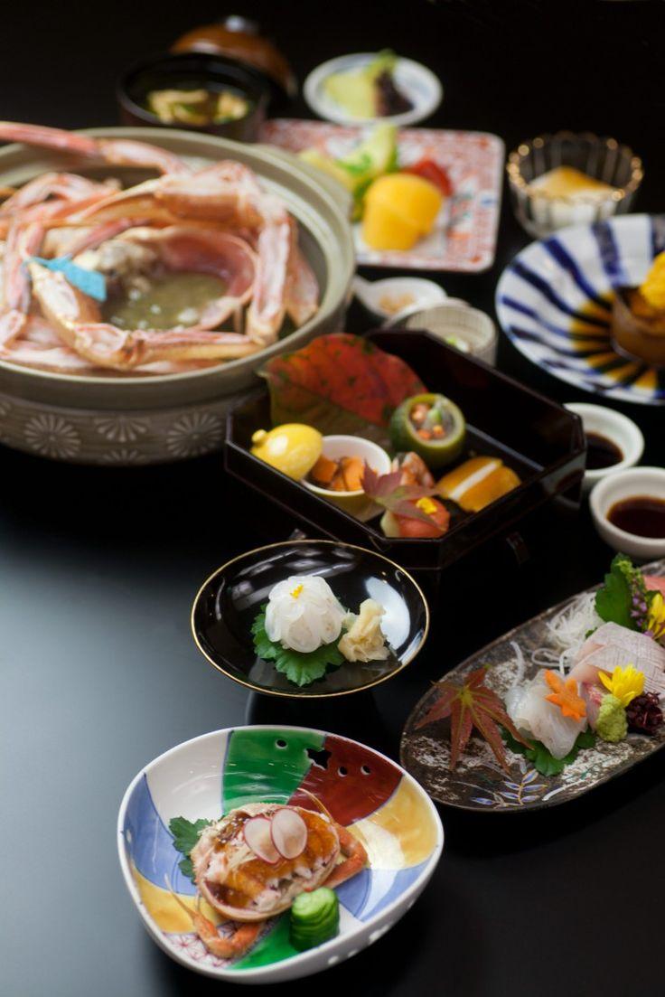 Japanese food presentation