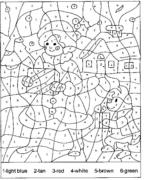 Color by numbers animal coloring pages for kids part i