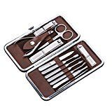 #8: Corewill Manicure & Pedicure Set Nail Clippers 12 in 1 Stainless Steel with Portable Travel Case