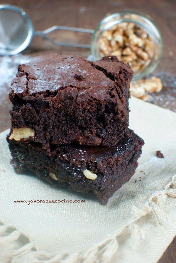 Brownie Sin Gluten   Y Ahora Qué Cocino?