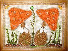 """Képtalálat a következőre: """"imagenes de cuadros hechos con semillas"""""""