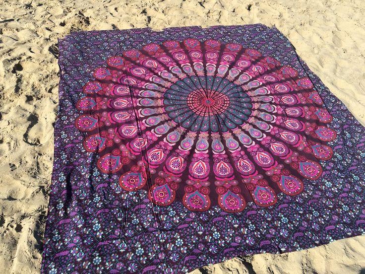 ☾❂☽ Pink Peacock Mandala ☾❂☽ www.thirteenblessings.bigcartel.com