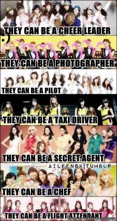 Girls Generation <3 they can be anything