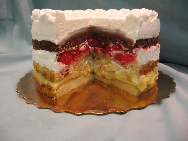 Atomic Cake!!!! My favorite cake ever. When I lived in Chicago we always had this  cake when it was someone's birthday. Too bad the bakeries in Michigan never heard of this cake.