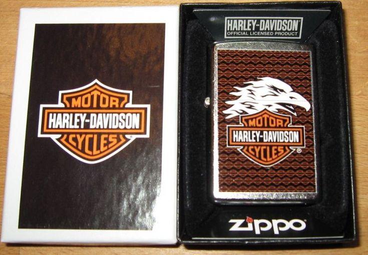 Zippo Harley Davidson Eagle Bar & Shield HD - Ferromil - Shop