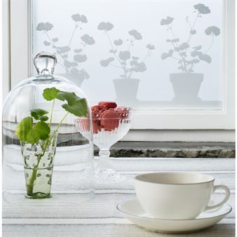 An easy-to-use static cling film for window protection and stylish decoration. The film clings without adhesive and can be applied to any glossy surface.  It comes in two different sizes and can be applied side by side for suitable width.