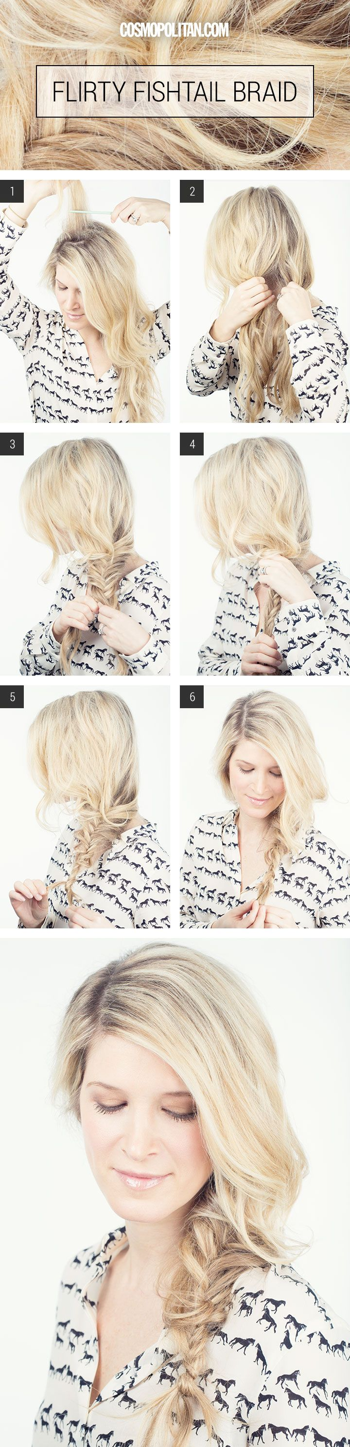 How to Make A Fishtail Braid - Sexy and Sultry Braided Hairstyles for Long Hair