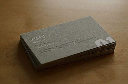 Business Card Design Inspiration | Logo Design Blog