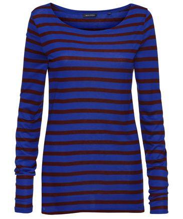 Marc O'Polo - Damen Langarm Shirt #fashion #trends #electric #blue #engelhorn