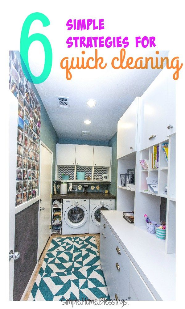 As much as I would love to live in a model home, or a self-cleaning home (please, who is going to invent this?), I don't. So, I have devised some simple strategies for quick cleaning for my limited time and even more limited energy.