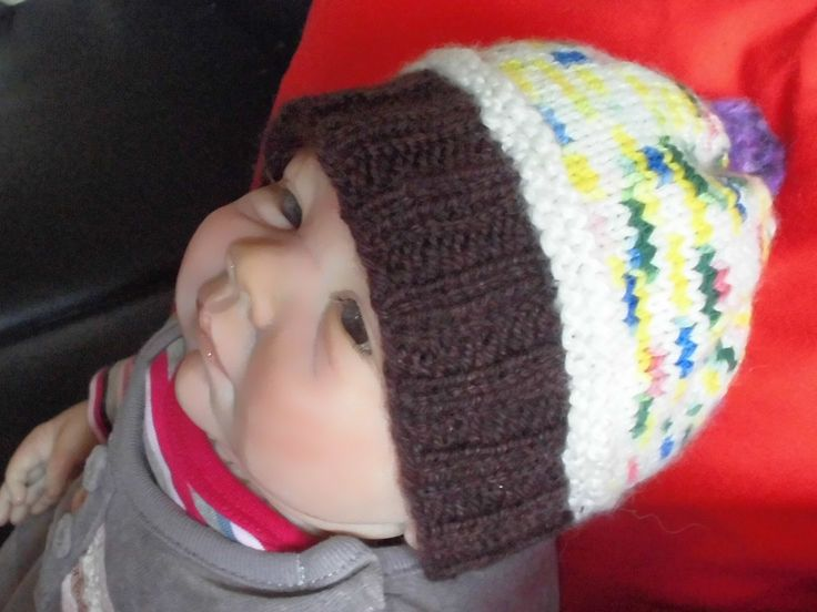 Cupcake Hat Baby To Toddler Sizes, Handknit Hat For Girls, Newborn Wool Hat, Hat For Girls And Boys, Handdyed Wool Hat, EU SELLER