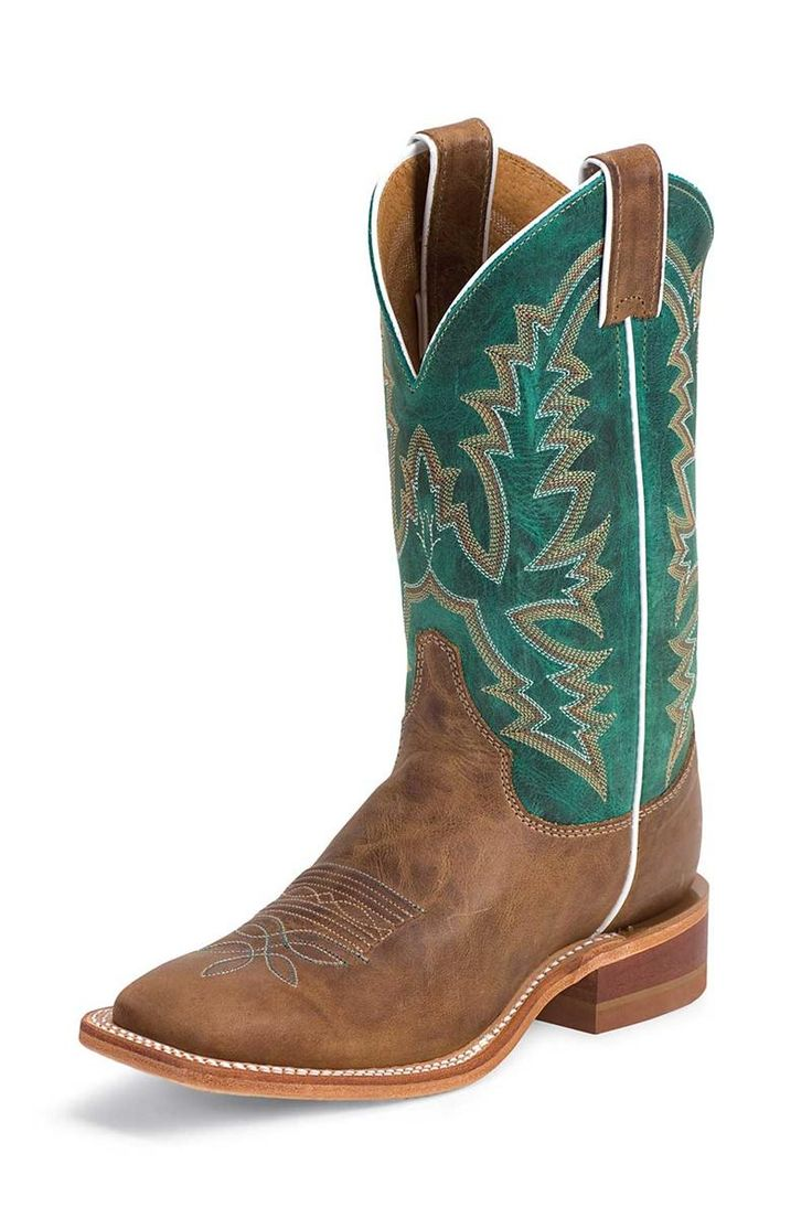 Justin Boots Women's America Burnished Tan Cowgirl Boots