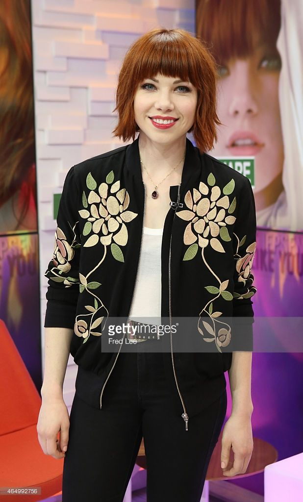 AMERICA - Carly Rae Jepsen performs live on 'Good Morning America,' 3/2/15, airing on the ABC Television Network.