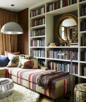 Интерьер домашней библиотеки - Дизайн интерьеров | Идеи вашего дома | Lodgers