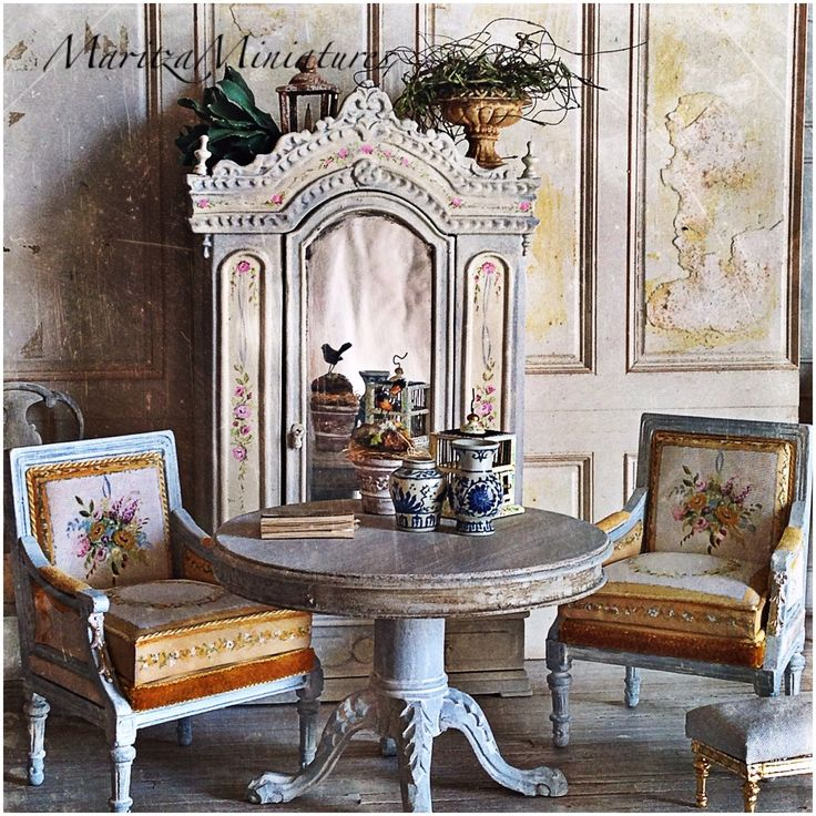 Dining Room Attendant: 1141 Best French Dolls House Inspiration Images On