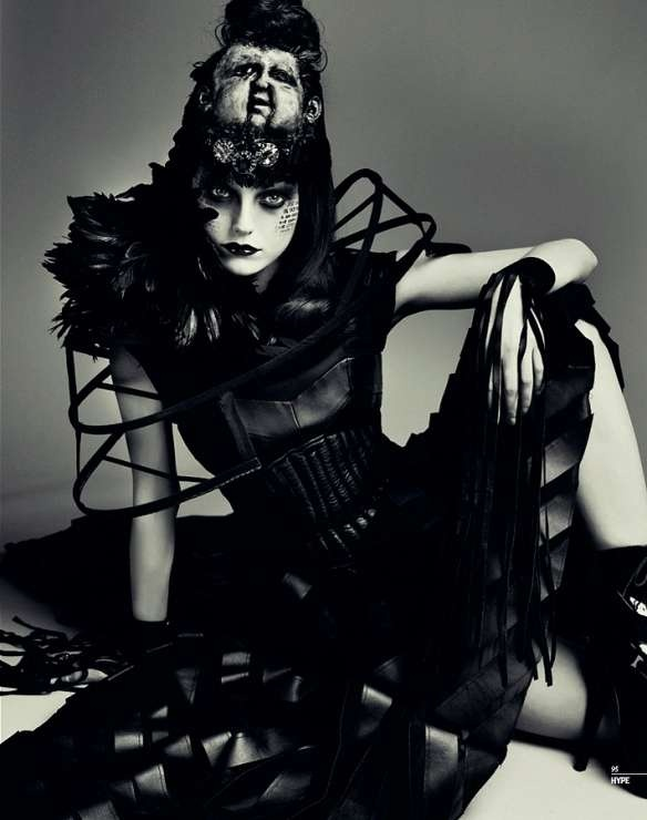 Hype#4 Fall 2011 issue editorial titled 'Witchcraft' - shot by Lado Alexi    The editorial titled 'Witchcraft' presents eer