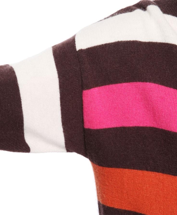 Patterned Stripe Sweater