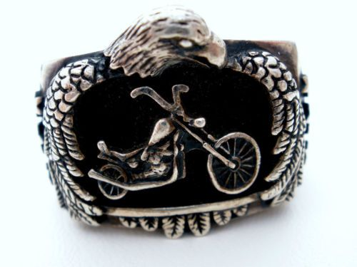 35 best harley davidson rings images on pinterest harley for Harley davidson jewelry ebay