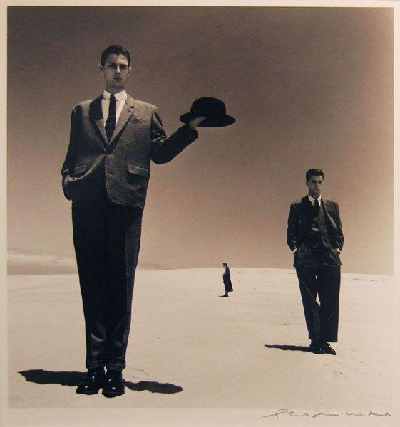 〈砂丘モード〉より《砂丘D》 1983年 ゼラチンシルバープリント イメージサイズ:25.0x23.3cm