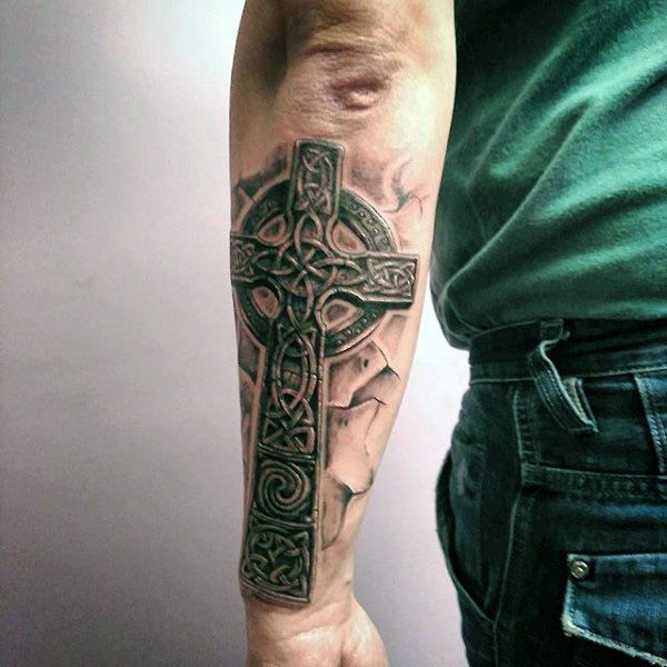 Scottish Celtic Tattoos For Men: Best 25+ Celtic Cross Tattoos Ideas On Pinterest