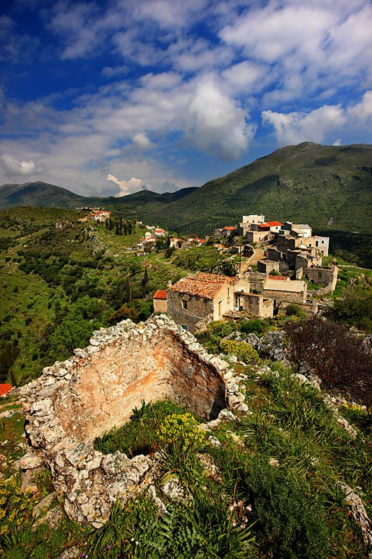 Loukadika is one of the most beautiful villages of Eastern Mesa Mani. #Greece #peloponnese #Irida Resort