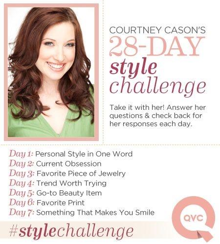 Follow Courtney Cason's 28 days of style #stylechallenge
