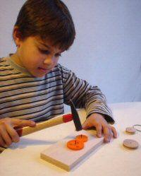 Thema 4: Op Wielen; ontdekdoos wielen  zelf maken