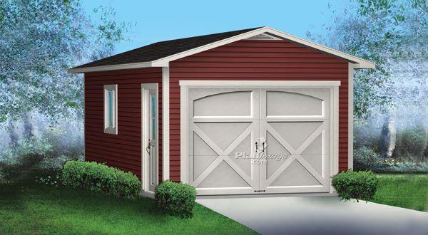 planimage ce garage simple avec toit deux versants sera utile pour garer votre voiture et. Black Bedroom Furniture Sets. Home Design Ideas