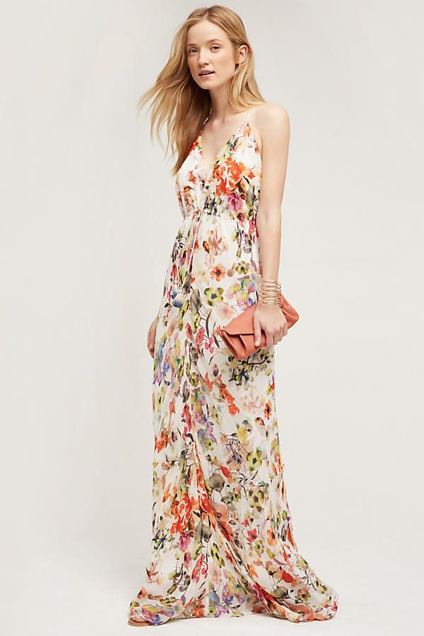 1000 ideas about print maxi dresses on pinterest maxis for Anthropologie mural maxi dress