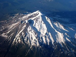 """Mount Shasta - Úytaahkoo in Karuk or """"White Mountain"""" - The name """"Shasta"""" comes from the Shasta Indians. It is located at the southern end of the Cascade Range in Siskiyou County, California and is 14,179 feet"""