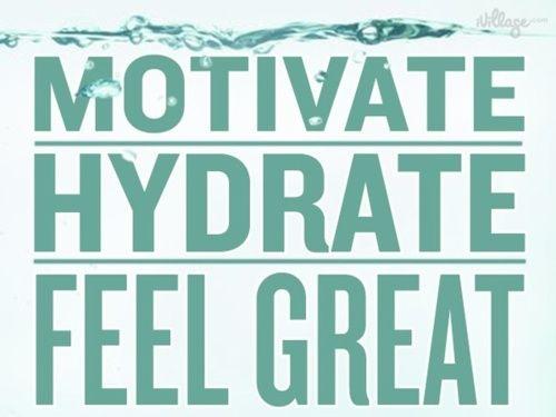 motivate hydrate feel great
