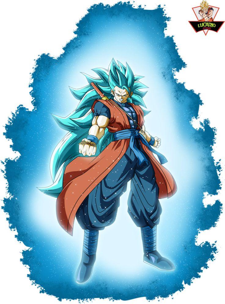 Goku Xeno Ssj3 Blue SDBH by lucario-strike.deviantart.com on @DeviantArt