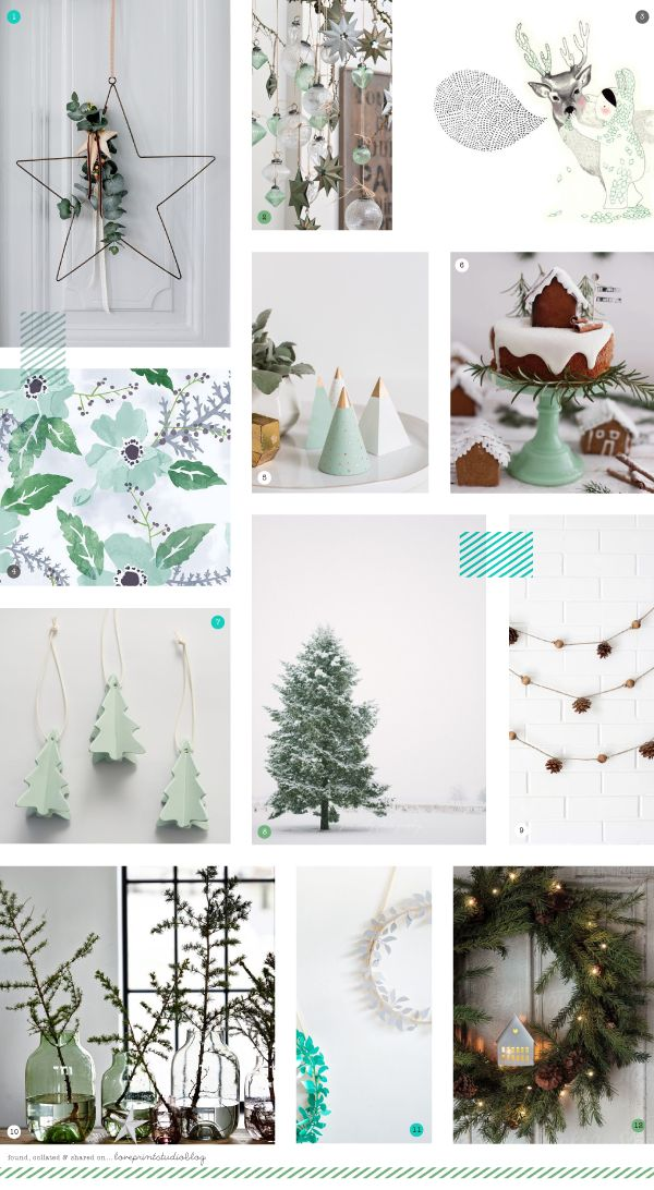 love print studio blog: A cool, calming Christmas...