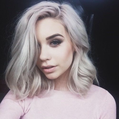 Her hair is everything