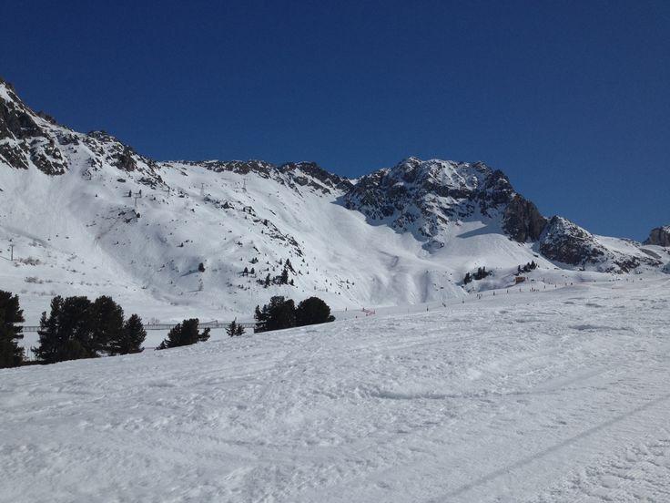 le domaine skiable de La Plagne