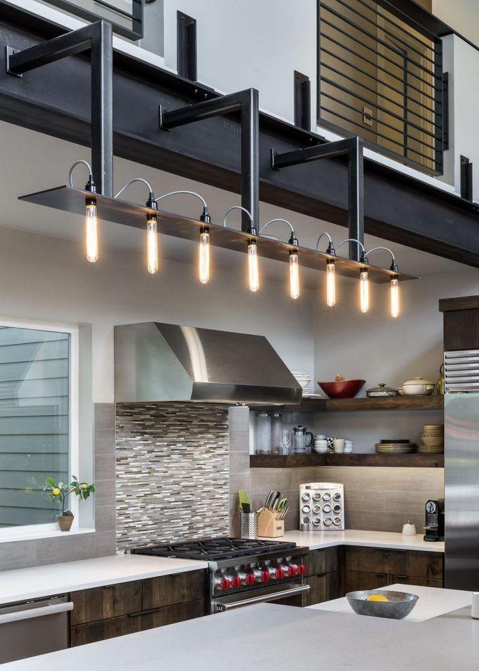 Kitchen Industrial Kitchen Light Fixtures Ideas Industrial Flush
