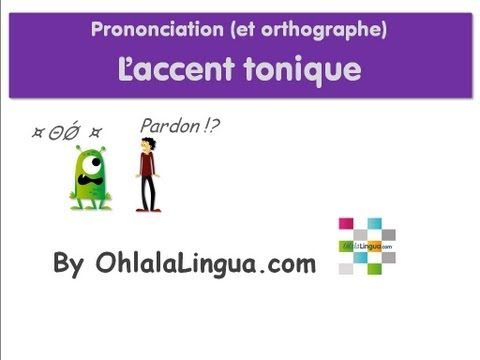 La pronunciación 6.
