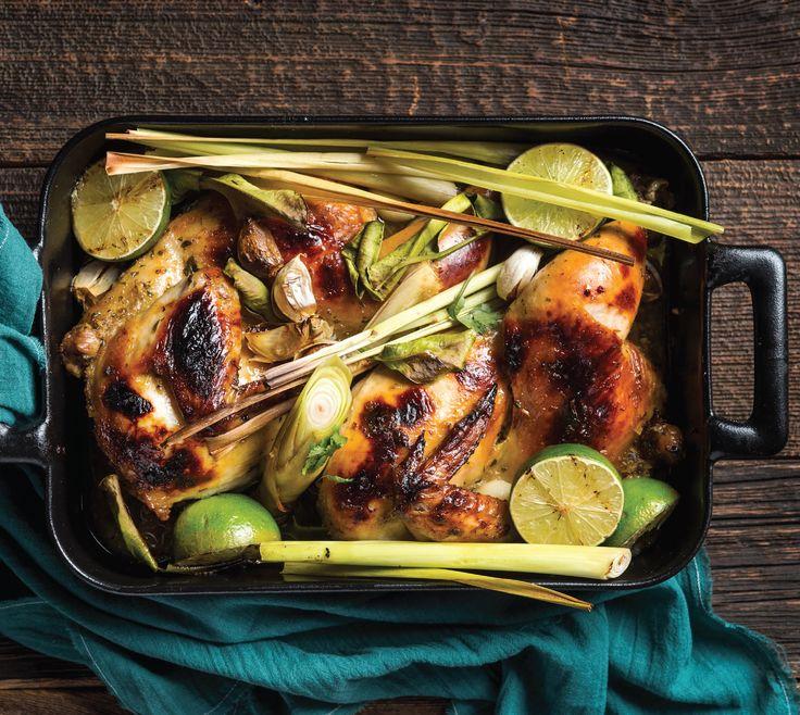 Vietnamese At Home: Oven-Roasted Lemongrass Chicken