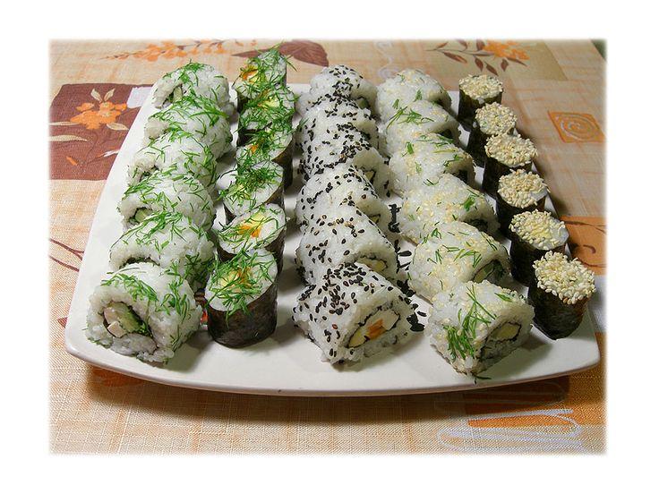 ru_vegetarian: вегетарианские роллы