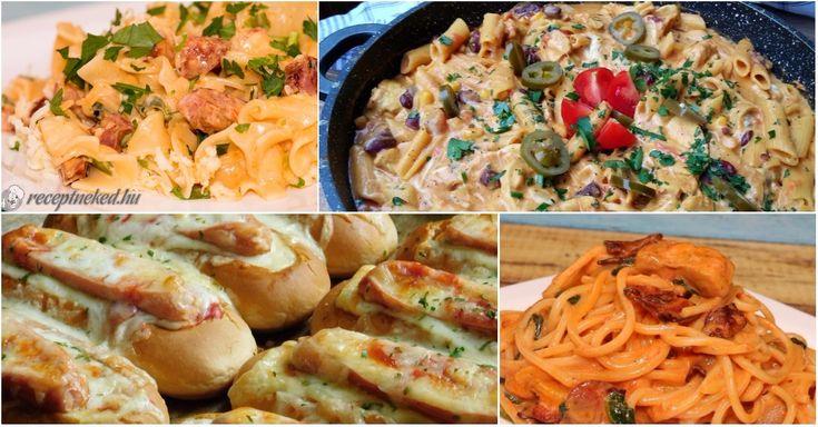 6 kiváló recept, amit bármikor elkészíthetsz vacsira!