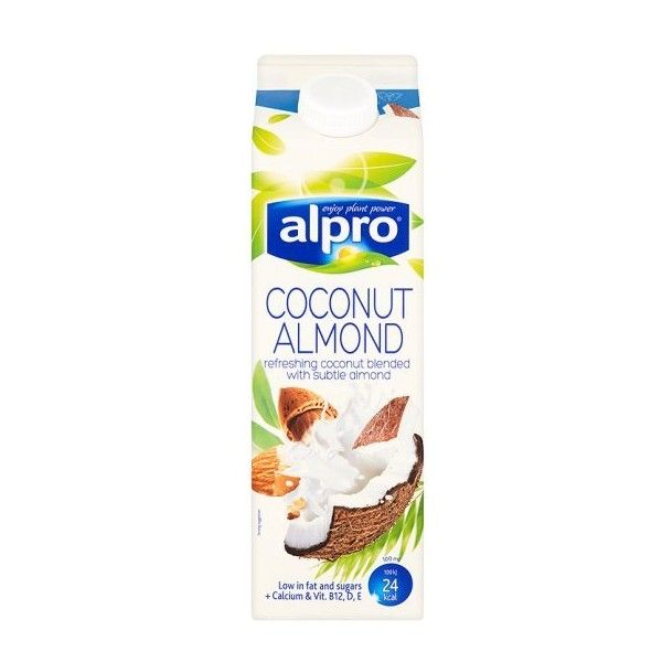 alpro mandelmjölk lchf