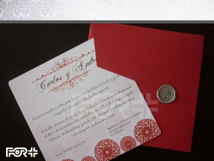 Partes de Matrimonio / invitaciones de boda / wedding invitation