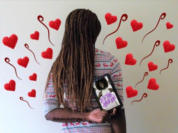 Book review of Let's Talk About Love by Claire Kann: http://oliviascatastrophe.com/2018/01/lets-talk-about-love-book-review-giveaway/