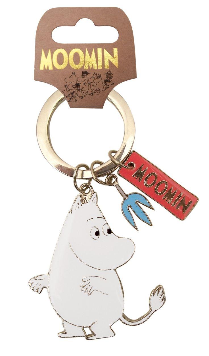 Moomin Keyring | Moomintroll | Moomin | Bloomsbury Store