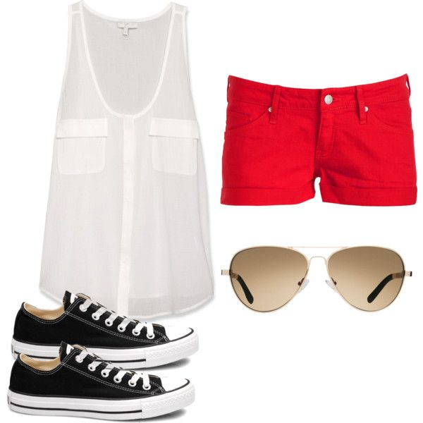"""""""Summer Clothes (My Style)"""" by elizabeth-colden on Polyvore"""