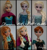 Disney Frozen OOAK panenky lulemee