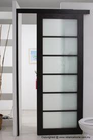 internal sliding doors instead of normal doors- space saver