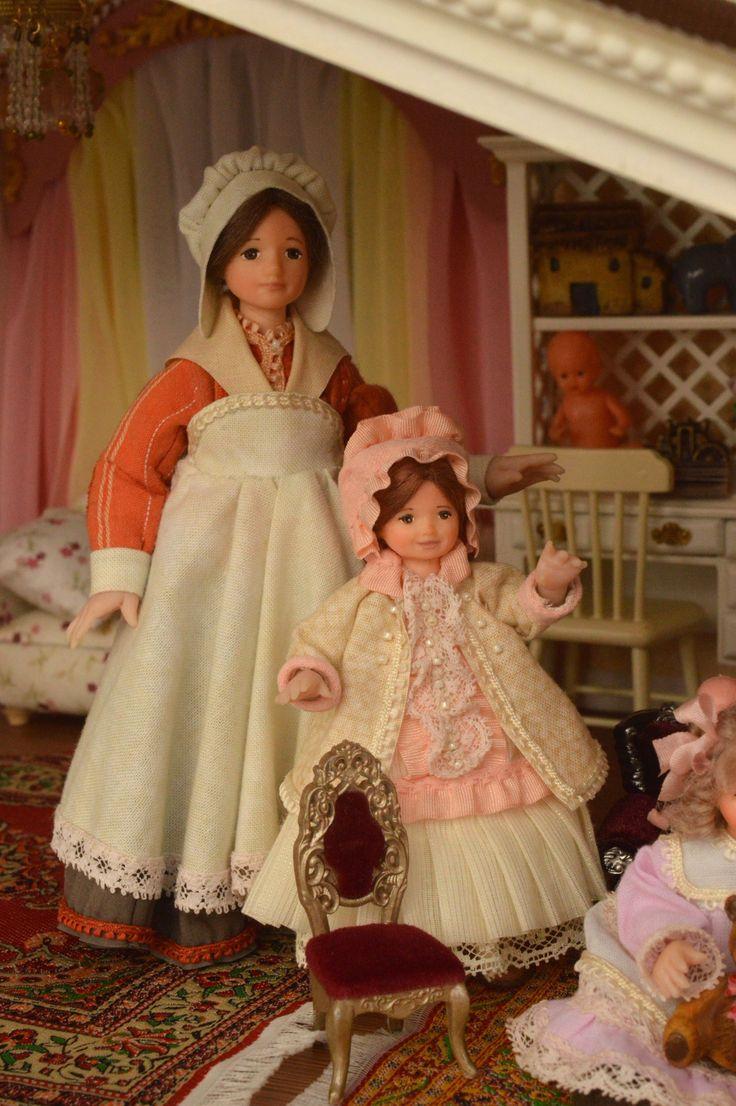Миниатюрные куклы Тамары Волковой.