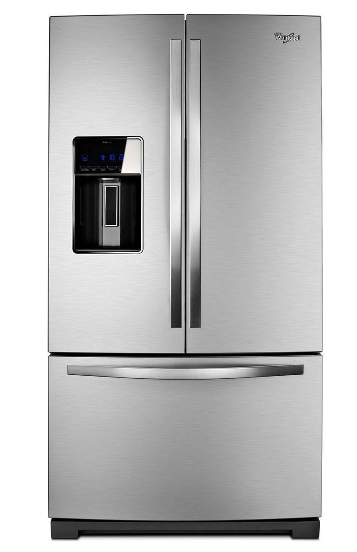 Whirlpool WRF989SDAM 28.6 Cu. Ft. Stainless Steel French Door Refrigerator - Energy Star